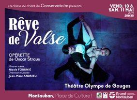 RÊVE DE VALSE #Montauban @ Théâtre Olympe de Gouges