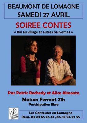 SOIRÉE CONTES #Beaumont-de-Lomagne @ Maison Fermat
