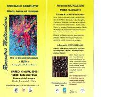 SPECTACLE ASSOCIATIF : DANSE, CHANT, MUSIQUE #Beaumont-de-Lomagne @ Salle des Fêtes