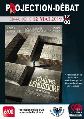LES TÉMOINS DE LENDSDORF - PROJECTION & DÉBAT #Montauban @ Cinéma CGR Le Paris