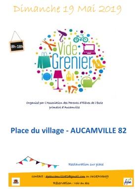 VIDE-GRENIER #Aucamville @ Place du village