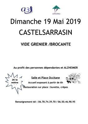 VIDE GRENIER #Castelsarrasin