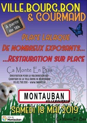 VILLE, BOUR, BON & GOURMAND #Montauban
