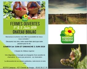 BIENVENUE À LA FERME ! #Campsas @ Château BOUJAC