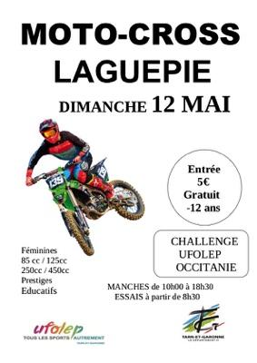 CALLENGE MOTO CROSS UFOLEP OCCITANIE #Laguépie @ La Vianie Circuit Joél Robert
