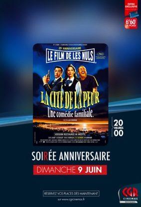 LA CITÉ DE LA PEUR : 25° ANNIVERSAIRE #Montauban @ CGR MONTAUBAN