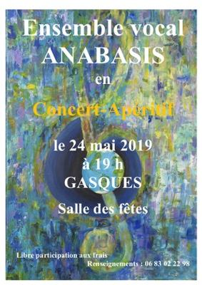 CONCERT APÉRITIF #Gasques @ Salle des Fêtes