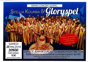 CONCERT GOSPEL - STELLIA KOUMBA & GLORYSPEL #Montbeton @ Espace Culturel Jean Bourdette