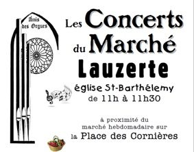 CONCERT DU MARCHÉ #Lauzerte @ Eglise St Barthélémy