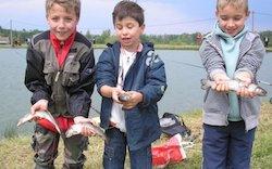 """CONCOURS DE PÊCHE """"SPÉCIAL ENFANTS"""" #Vazerac @ Lac M. Carles Yves"""
