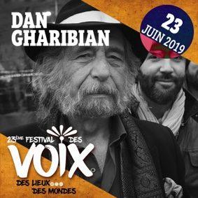 DAN GHARIBIAN AU FESTIVAL DES VOIX #Moissac @ Chapelle du Séminaire