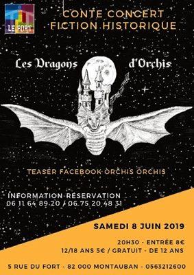 LES DRAGONS D'ORCHIS #Montauban @ LE FORT