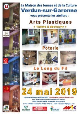 EXPOSITION ATELIER DES ARTS #Verdun-sur-Garonne @ MJC Verdun-sur-Garonne