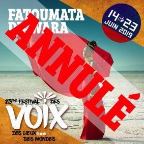 FATOUMATA DIAWARA AU FESTIVAL DES VOIX #Lafrançaise @ Parvis de l'Eglise