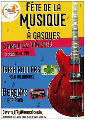 FETE DE LA MUSIQUE #Gasques @ Salle des fêtes