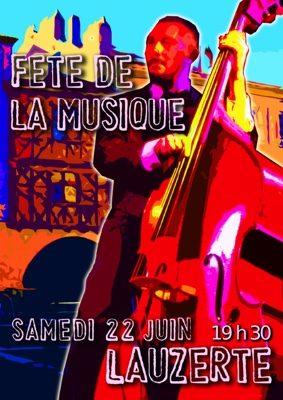 FÊTE DE LA MUSIQUE #Lauzerte @ Place des cornières