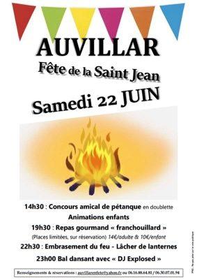 FETE DE LA SAINT JEAN 2019 #Auvillar