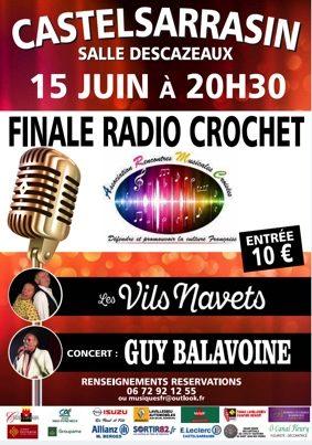 FINALE RADIO CROCHET #Castelsarrasin @ Salle Descazeaux