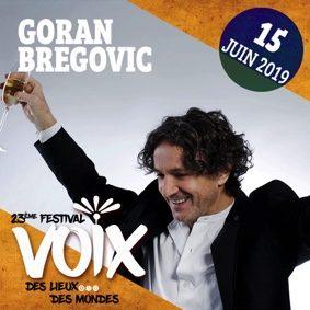GORAN BREGOVIC AU FESTIVAL DES VOIX #Lafrançaise @ Parvis de l'Eglise