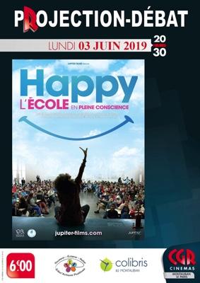 HAPPY L'ÉCOLE EN PLEINE CONSCIENCE - CINÉ-DÉBAT #Montauban @ Cinéma CGR Le Paris