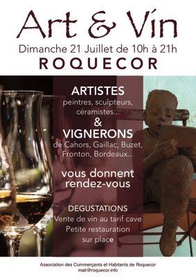 JOURNÉE ART ET VIN #Roquecor