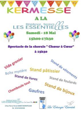 KERMESSE #Nègrepelisse @ LES ESSENTIELLES