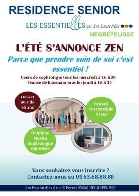 L'ETE S'ANNONCE ZEN #Nègrepelisse @ LES ESSENTIELLES