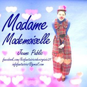 MADAME MADEMOISELLE #Montauban @ Théâtre de l'Embellie