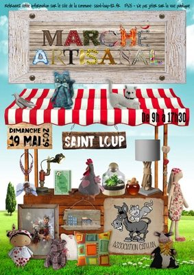 MARCHÉ ARTISANAL #Saint-Loup @ Salle des fêtes