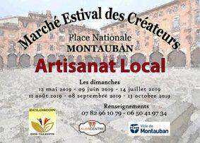 MARCHÉ ESTIVAL DE CRÉATEUR #Montauban