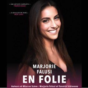 MARJORIE FALUSI EN FOLIE #Montauban @ Théâtre de l'Embellie