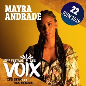MAYRA ANDRADE ET TEREZ MONTCALM AU FESTIVAL DES VOIX #Moissac @ Abbaye St-Pierre