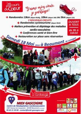 LES PARCOURS DU COEUR #Beaumont-de-Lomagne @ Centre Midi Gascogne