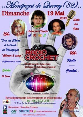 RADIO- CROCHET #Montpezat-de-Quercy @ Salle des Fêtes