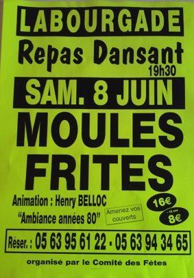 REPAS DANSANT #Labourgade @ Salle des Fêtes