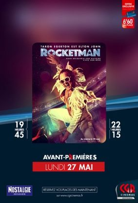 ROCKETMAN EN AVANT-PREMIÈRES #Montauban @ CGR MONTAUBAN