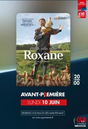 ROXANE en Avant-Première #Montauban @ CGR MONTAUBAN