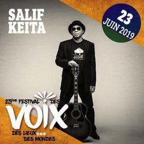 SALIF KEITA AU FESTIVAL DES VOIX #Moissac @ Abbaye St-Pierre