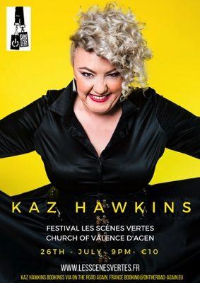 LES SCENES VERTES  -  KAZ HAWKINS #Valence d'Agen @ EGLISE