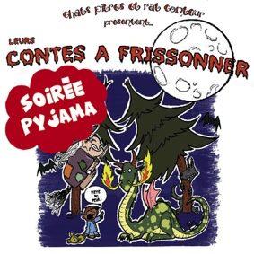 SOIRÉE PYJAMA AVEC AUDREY – LES CONTES À FRISSONNER #Montauban @ Théâtre de l'Embellie