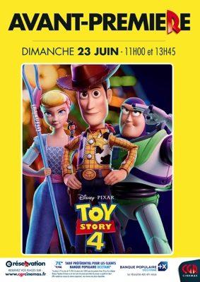 TOY STORY 4 EN AVANT-PREMIÈRE #Montauban @ CGR MONTAUBAN