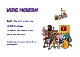 VIDE MAISON #Moissac @ Maison
