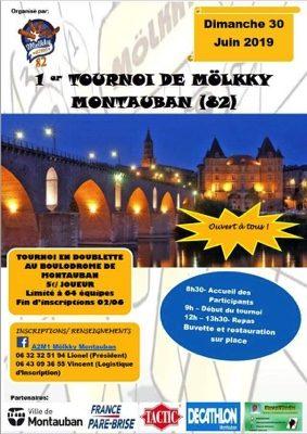 1er TOURNOI DE MÖLKY #Montauban @ Boulodrome de Montauban