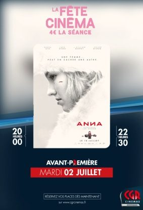 ANNA - EN AVANT-PREMIÈRES #Montauban @ CGR MONTAUBAN