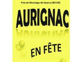 AURIGNAC EN FÊTE #Montaigu-de-Quercy @ Aurignac