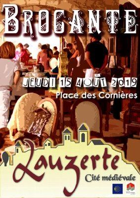 BROCANTE ET ANTIQUITÉS #Lauzerte @ Place des cornières