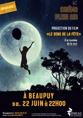 CINEMA EN PLEIN AIR #Beaupuy @ Aire de jeux - Salle des fêtes
