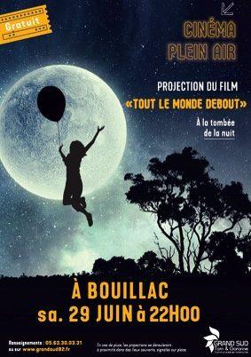 CINEMA EN PLEIN AIR #Bouillac @ Parvis de la salle des fêtes