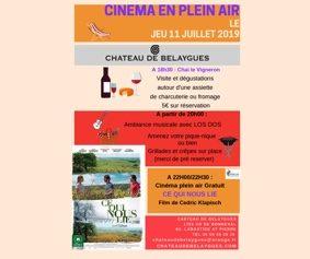 CINEMA EN PLEIN AIR #Labastide-Saint-Pierre @ Château de Belaygues
