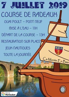 COURSE DE RADEAUX SUR LE TARN #Montauban @ Quai Poult